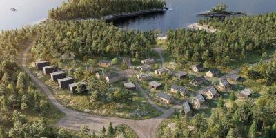 Vy över Svärdklova där Archus bistår med affärsutveckling