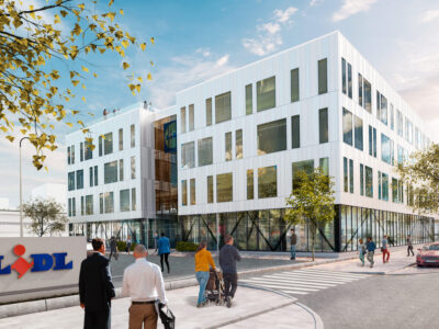 Archus arkitektur har skapat Lidls nya huvudkontor