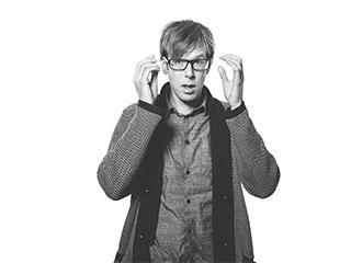 Porträttbild av Andreas Kristoffersson, designer och inredare på Archus