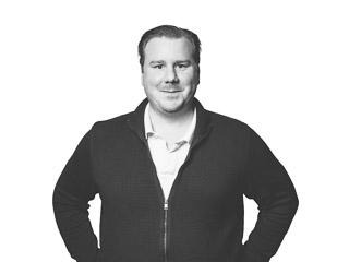 Porträttbild av Erik Lundström, byggnadsingenjör på Archus