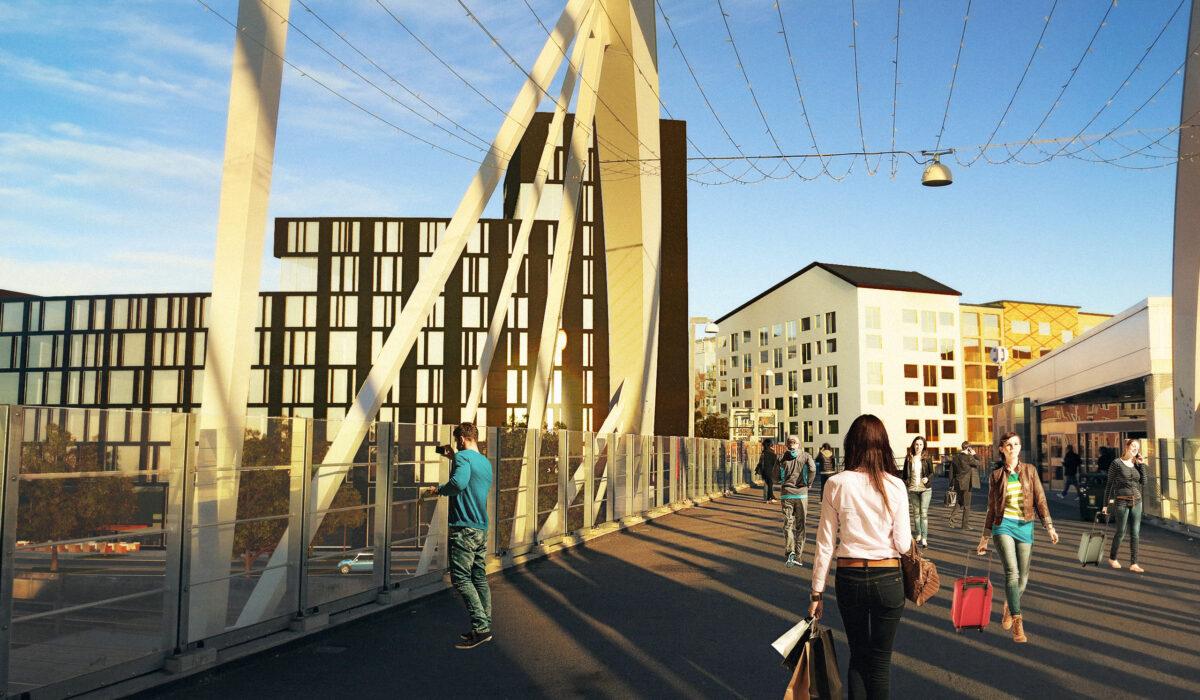 Archus-solna-Kvarter-B-Ballongberget-arkitektur-landskapsarkitektur