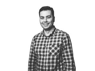 Porträttbild av Samer Beythoon, arkitekt på Archus