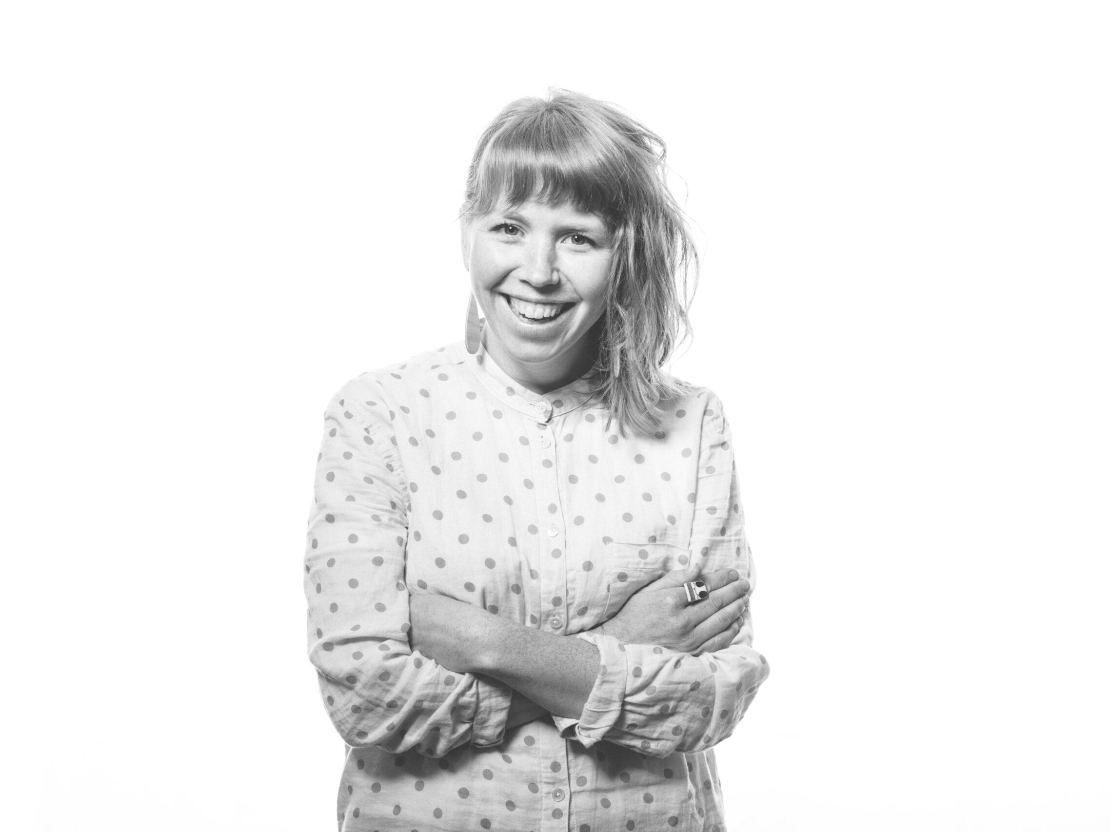 Porträttbild av Ellinor Thunarf, landskapsarkitekt på Archus