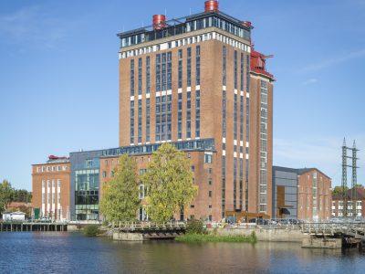 Det gamla ångkraftverket i Västerås som Archus nu förvandlat till det prisbelönta Steam Hotel