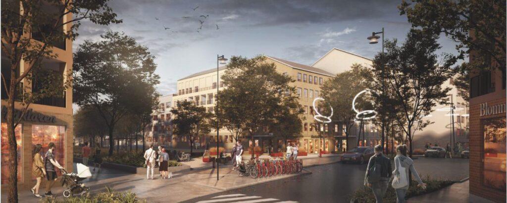 Knivsta får en ny attraktiv stadsdel med 1000 nya bostäder och skola