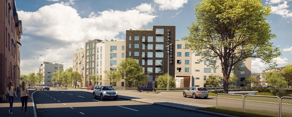 Pressmeddelande: Grönt ljus för nya bostäder i Oxbackens centrum