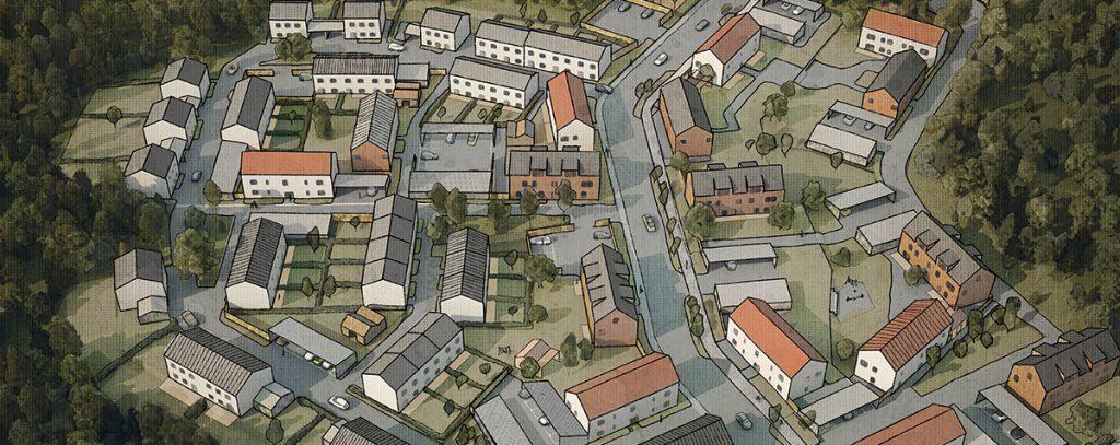 Pressmeddelande: Archus ritar ny stadsdel med 500 bostäder i Västerås