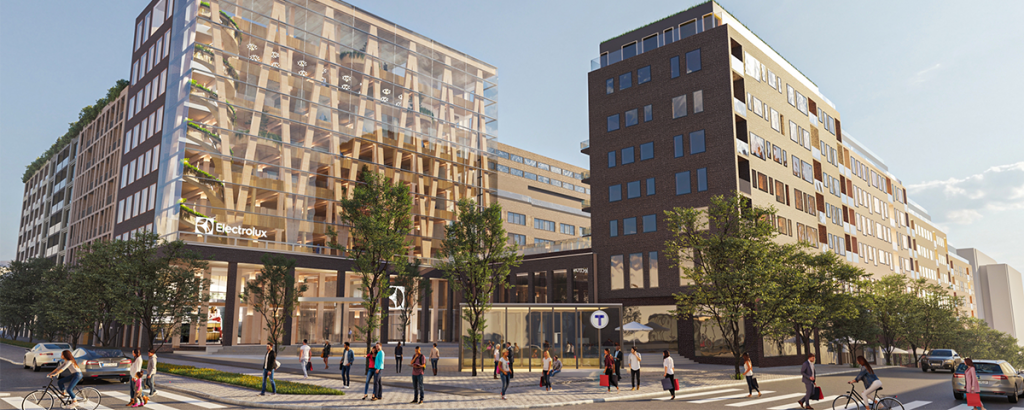 Pressmeddelande: Archus driver utvecklingen av nytt kvarter om 85 000 kvm i centrala Stockholm
