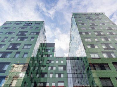 Archus har arbetat med arkitekturen för vattengalls huvudkontor