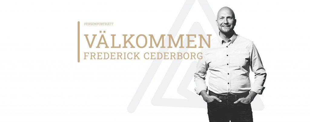 Intervju med Frederick Cederborg, ny senior affärsutvecklare på Archus