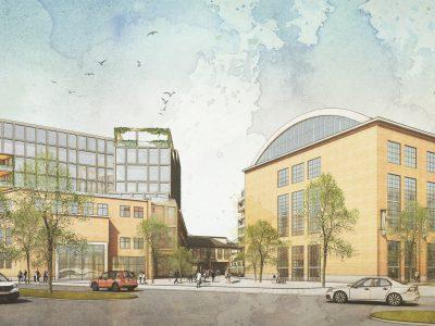 Byggnader som planeras att uppföras i Verkstaden 7